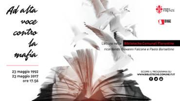 Ad alta voce contro la mafia – Letture nelle Biblioteche Comunali Fiorentine