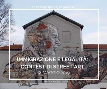 Immigrazione e Legalità: parte il contest di Street Art
