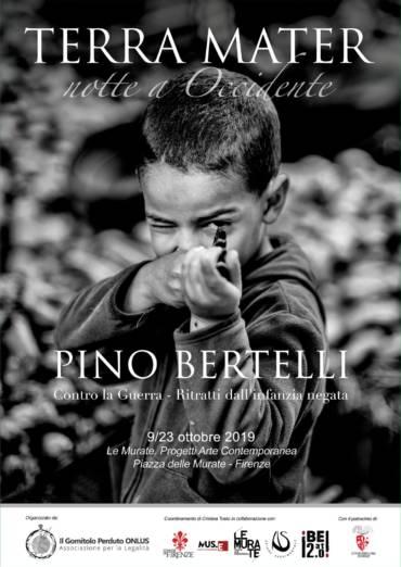 Pino Bertellli Contro la Guerra – Ritratti dell'infanzia negata